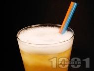 Коктейл Гърмяща змия с уиски, мастика (перно) и лимонов сок